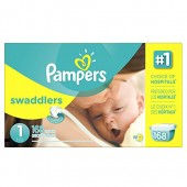 Pampers Swaddlers Diapers with Wetness Indicator