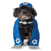 Yarmulke and Tallis Dog Costume