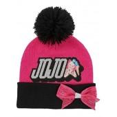 JoJo Siwa Nickelodeon Girls' Beanie/Knit Hat & Glove Set