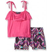 Limited Too Girls' Knit Top and Short Set