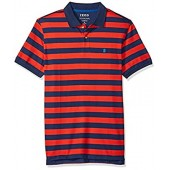 IZOD Men's Advantage Performance Double Stripe Polo