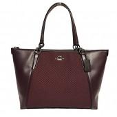 Coach AVA Legacy Jacquard Tote Bag Handbag