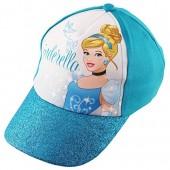 Disney Little Girls Princess Cinderella Cotton Baseball Cap, Age 4-7