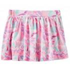 Oshkosh B'gosh Baby Girls Floral Print Scooter Skirt/Skort