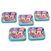American Greetings Minnie Mouse Square Plate (40 Count), 9
