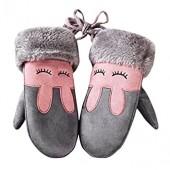 TRENDINAO Children Kids Girls Boys Full Finger Gloves Winter Warm for Christmas New Year Gift