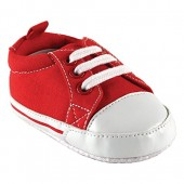 Luvable Friends Basic Canvas Sneaker (Infant)