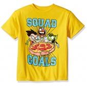Teen Titans Go Big Boys' Go Squad Goals