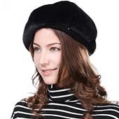 52ee21b21a2 Velvet Artist French Berets Film Director Paris Cap Women Soft Warm Classic