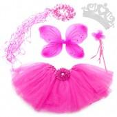 5 Piece Shimmering Fairy Princess Costume Set