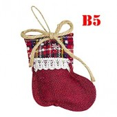 Christmas Gloves,Christmas Socks Cute Festival Party Tree Decoration