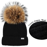 e0aae11bef3784 Womens Winter Hat and Scarf Set for Girls Knitted Beanie Hat Pom Pom Hats  Infinity Scarf. 판매가: 33,800원 29,900원 · 브랜드: FURTALK; 상품명