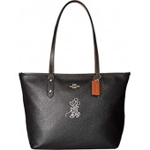 COACH Womens Minnie Mouse City Zip Tote with Motif ¿Disney x COACH