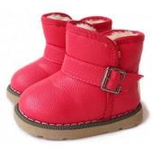 IOO Toddler Girls Boys Waterproof Snow Boots Baby Kids Warm Winter Fur Shoes (Toddler/Little Kid)