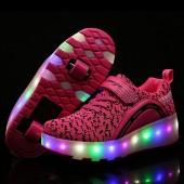 HUSK'SWARE HUSKSWARE LED Lighting Roller Skate Shoes Sport Sneaker For Little Kid/Big Kid Amazon
