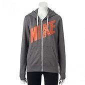 Nike Women's Club Graphic Full-Zip Fleece Hoodie