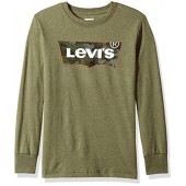 Levi's Big Boys' Long Sleeve Graphic T-Shirt