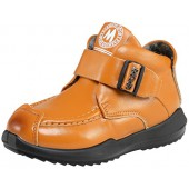 SKOEX Boy's Girl's Leather Martin Boots Ankle Winter Warm Shoes