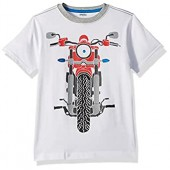 Gymboree Boys Short Sleeve Moto Tee