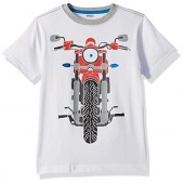 Gymboree Big Boys Short Sleeve Moto Tee