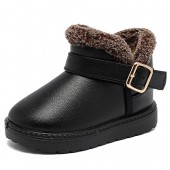 CIOR Boy's Toddler Snow Boots Waterproof Baby Kids Warm Winter Fur Shoes (Toddler/Little Kid)