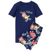 Gymboree Boys' 2-Piece Pajama Short Set