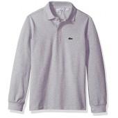 Lacoste Boys' (l1912) Long Sleeve Classic Pique Polo