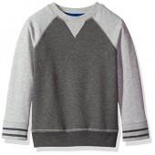 French Toast Boys' Long Sleeve Raglan Sweatshirt