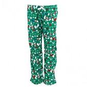 em  alfie Women's Plus Size Holiday Print Pajama Pants