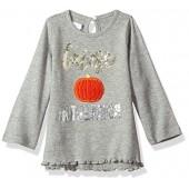 Mud Pie Baby Toddler Girls' Halloween Long Sleeve Tunic