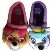 Nickelodeon Toddler Girls Paw Patrol Puppy Dog Slippers House Shoes