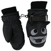 N'Ice Caps Little Boys and Baby Cute Animal Faces Thinsulate Waterproof Mittens