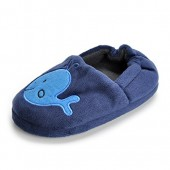 Estamico Toddler Boys Premium Soft Plush Slippers Cartoon Warm Winter House Shoes