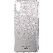 Kate Spade New York Women's Mirror Ombre Phone Case for iPhone¿ X Plus Silver One Size