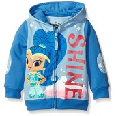 Nickelodeon Toddler Girls' Shimmer and Shine Character Hoodie