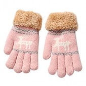 Christmas Gloves,Toddler Baby Cute Thicken Christmas Fawn Warm Gloves