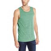Men's Tri-Blend Tank Top Active Soft Muscle Fit Shirts