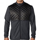 adidas Golf Men's CLIMAHEAT? Prime Quilted Full Zip Jacket