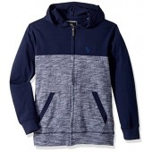 English Laundry Boys' Long Sleeve Zip up Jersey Hoodie (More Styles Available)