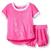 STX Girls T-Shirt and Short Set (More Styles Available)