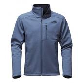 The North Face Men's Apex Bionic 2 Jacket (Large, Shady Blue Heather/Shady Blue Heather)