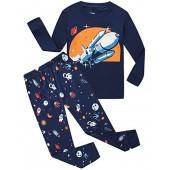 Little Pajamas 100% Cotton Boys Sleepwear Toddler Children PJS Sets Kids Clothes