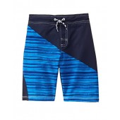 Gymboree Big Boys' Diagonal Blu Trunks