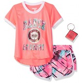 Limited Too Big Girls' Knit Top and Short Set (More Styles Available)