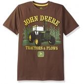 John Deere Big Boys' Tractors and Plows Tee