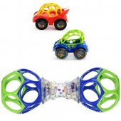 Oball RATTLE & ROLL and  SHAKER Toy Bundle