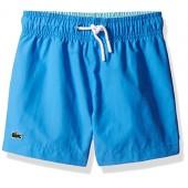 Lacoste Boys' Solid Classic Swim Suit