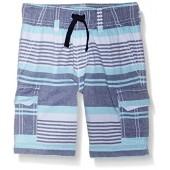 Gymboree Big Boys Teal Stripe Short