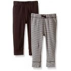 Carter's Baby Boys' 2 Pack Pants (Baby) - Brown/BrownStripe - Newborn