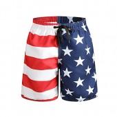 ORANSSI Big Boy Board Shorts American Flag Design
